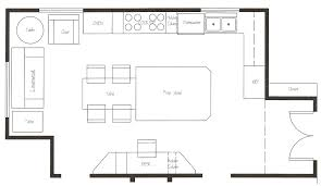 kitchen floor plans brilliant commercial restaurant kitchen design on our layout in