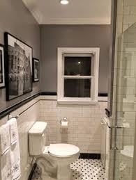 Win Bathroom Makeover - a 1920s house with a modern twist in portland oregon 1920s