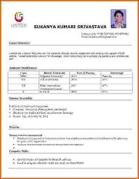 simple resume format sle doc simple resume sle doc file 28 images simple resume sle format