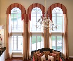 Home Interior Window Design Arch Shaped Window Curtains Business For Curtains Decoration