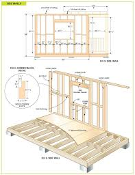 home plan shed building plans step by blueprints for x garage free