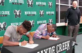 mayde creek high school yearbook mayde creek high school signing day february 2018 the katy news
