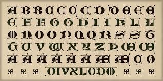 alter littera the initials c font