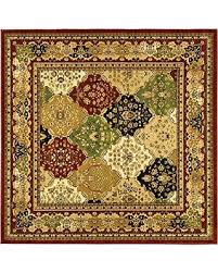 Safavieh Lyndhurst Collection Red Square Rug Roselawnlutheran
