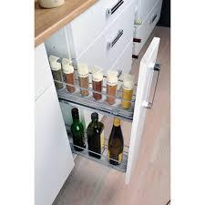 casier bouteille cuisine integree meuble range epice 15 cm cuisinez pour maigrir