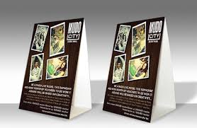 Table Tent Cards Great Designs For Your Next Table Tent Design Clubflyers