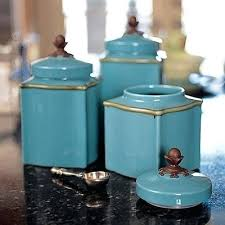 blue kitchen canisters teal blue kitchen canisters home ideas