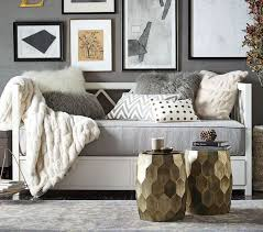 pottery barn daybed bedding interior decorating
