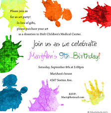 9 year old birthday invitation wording dolanpedia invitations ideas