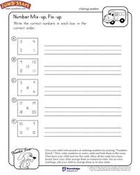 number mix up fix up free math worksheet for kids jumpstart