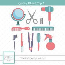 hairdressing clipart hair clipart haircut clipart vector