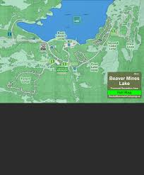 Beaver Lake Map Full Map Beaver Mines Lake Campground Campground Map Crowsnest