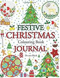 advent calendar colouring book 24 numbered christmas colouring