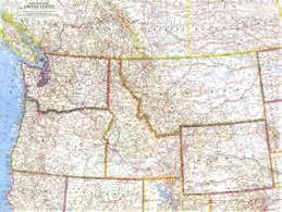 road map northwest usa somos primos