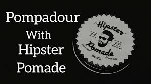pompadour hairstyle with hipster pomade youtube