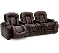 Comfortable Home Theater Seating Palliser 41918 Rhumba Home Theater Seating