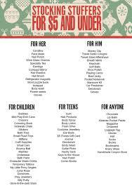 christmas stuffers stuffers for 5 and christmas gift guide