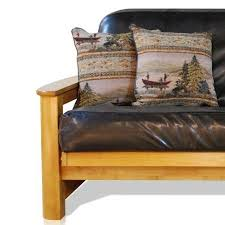 awesome faux leather futon cover with somette palomino faux