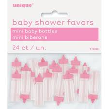 girl baby shower favors plastic pink baby bottle baby shower favors girl baby shower favors