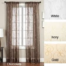 Cheap Curtains 120 Inches Long 120 Inches Sheer Curtains Shop The Best Deals For Dec 2017