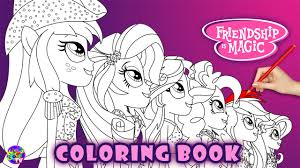 equestria girls coloring page my little pony coloring book