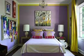 Purple Bedroom Curtains Yellow Purple Bedroom U2013 Iner Co