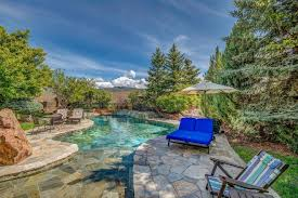 Backyard View Photos Boise Home Features Out Of This World Resort Like Backyard