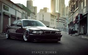 bagged ls400 fourtitude com damnit now i want a slammed bagged e38 7 series