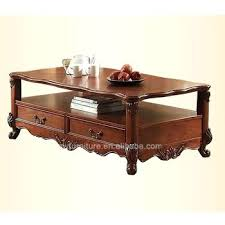wood coffee table with wheels antique wood coffee tables hand carved hard living room table trunk