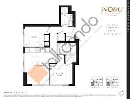 toronto floor plans nobu condos platinum vip access