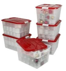 storage box with ornament dividers just 13 per box shipped