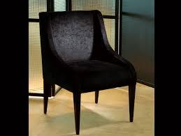 Modern Fabric Chairs Nella Vetrina Duke Modern Italian Designer Black Fabric Dining Chair