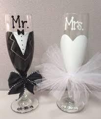 wedding gift glasses best 25 and groom glasses ideas on