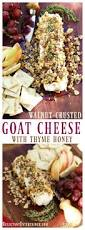 walnut crusted goat cheese with thyme honey reluctant entertainer