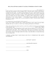 27 images of personal injury waiver template infovia net