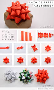 paper gift bows how to make a paper gift bows diy how to wrap a gift tutorials