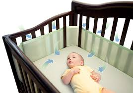 My Baby Is Chewing On His Crib by Breathable Mesh Crib Liner Giveaway Babycenter Blog