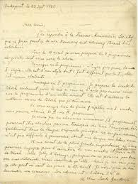 bartók béla important autograph letter in french