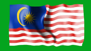 Malaysai Flag Malaysia Waving Flag Green Sceen Animation Youtube