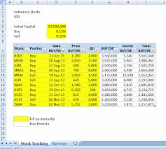 Tracking Spreadsheet Template Excel How To Buy Stocks Stock Tracking Spreadsheet Template