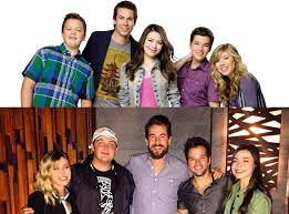 the social cast miranda cosgrove nathan kress and the icarly cast are all grown