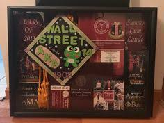graduation shadow box cap and gown add in graduation cap and gown diploma cords tassels tickets