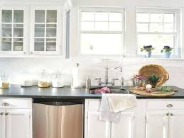 beveled marble subway tile kitchen backsplash bathroom