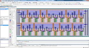 free cmos layout design software tanner l edit ic layout mentor graphics