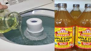 put apple cider vinegar in your washing machine learn why