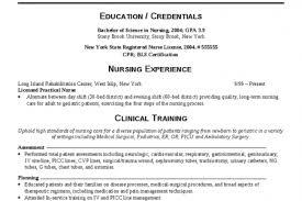 Sample Nurse Resumes by Sample Resume Registered Nurse Long Term Care Essays Writing