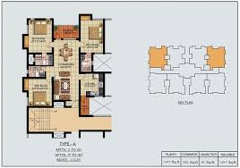 Apartment Block Floor Plans Prakrriti Green Vistas