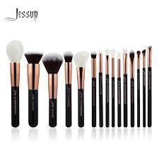 professional makeup tools jessup gold black professional makeup brushes set make up