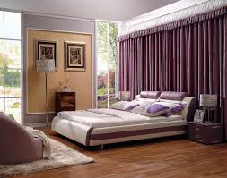 Bedroom Ideas Purple And Cream Elegant Bedroom Designs Gallery White Side Bed Table White Padded