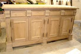 Unfinished Furniture Sideboard Spanish Colonial Buffets